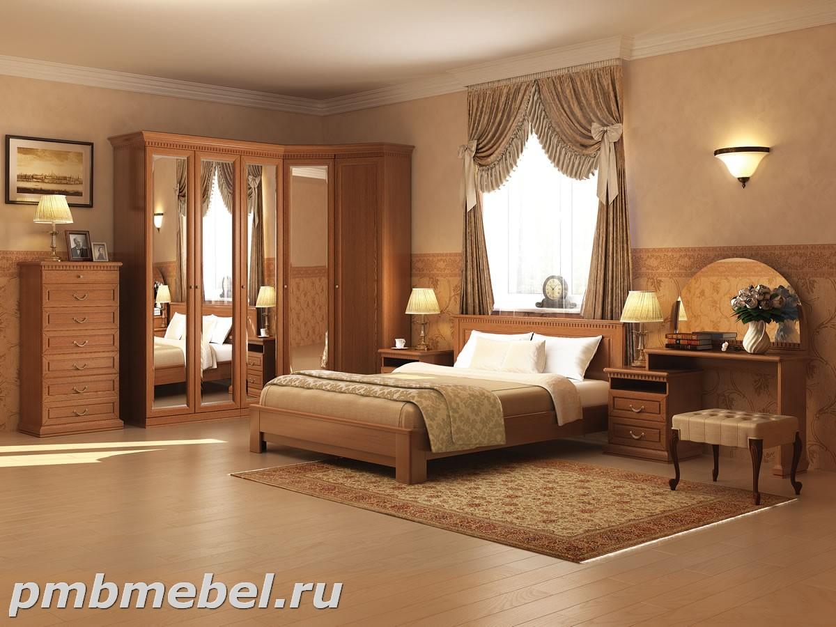 спальни купить спальный гарнитур из массива дерева недорого